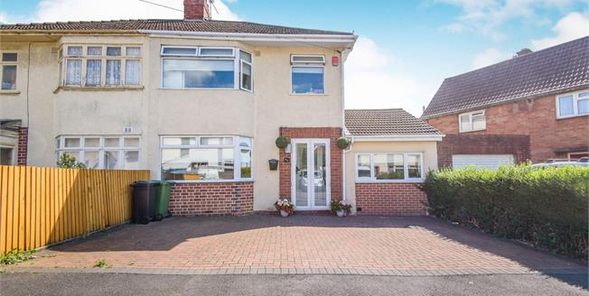 Offers in excess of £315,000, 3 Bedroom Semi Detached House For Sale in Hanham, BS15