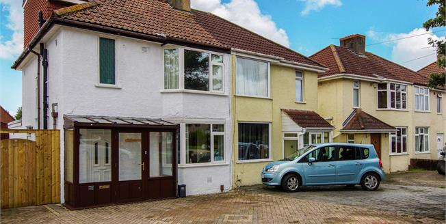 Offers in the region of £325,000, 4 Bedroom Semi Detached House For Sale in Little Stoke, BS34