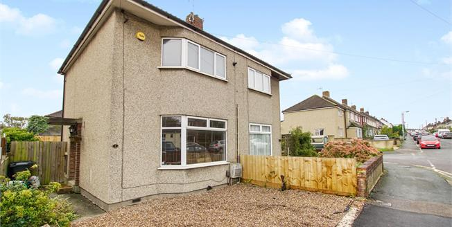 Guide Price £220,000, 2 Bedroom Semi Detached House For Sale in Patchway, BS34