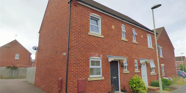 Offers Over £170,000, 2 Bedroom Semi Detached House For Sale in Quedgeley, GL2