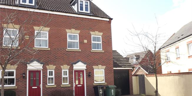 Asking Price £185,000, 3 Bedroom End of Terrace House For Sale in Quedgeley, GL2