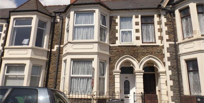 Asking Price £274,500, 4 Bedroom Terraced House For Sale in Cardiff, CF24