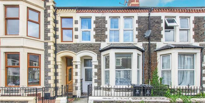 Asking Price £255,000, 4 Bedroom Terraced House For Sale in Cardiff, CF24