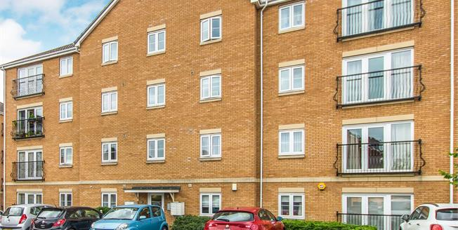 Asking Price £130,000, 2 Bedroom Flat For Sale in Cardiff, CF23