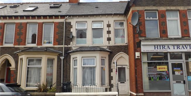 Offers in excess of £325,000, 4 Bedroom Terraced House For Sale in Cardiff, CF24