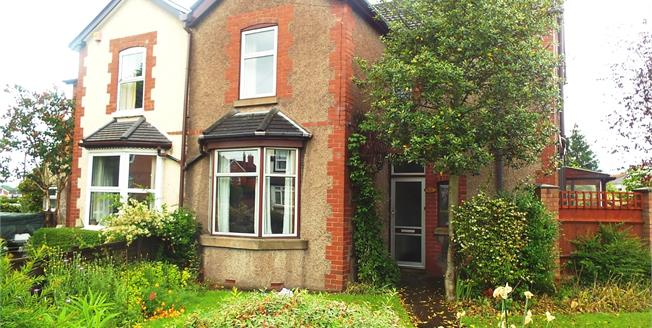 Guide Price £250,000, 3 Bedroom Semi Detached House For Sale in Worcester, WR3