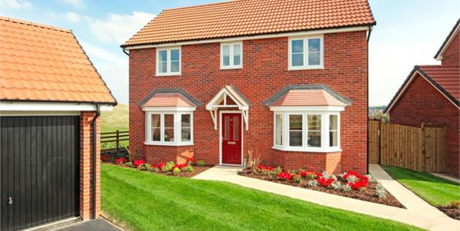 £345,995, 4 Bedroom Detached House For Sale in Worcestershire, WR2