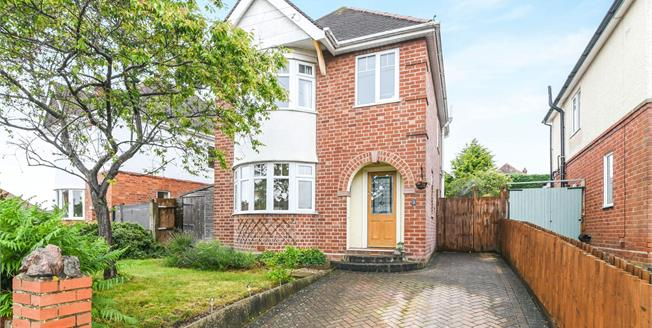 Offers in excess of £300,000, 3 Bedroom Detached House For Sale in Worcester, WR3