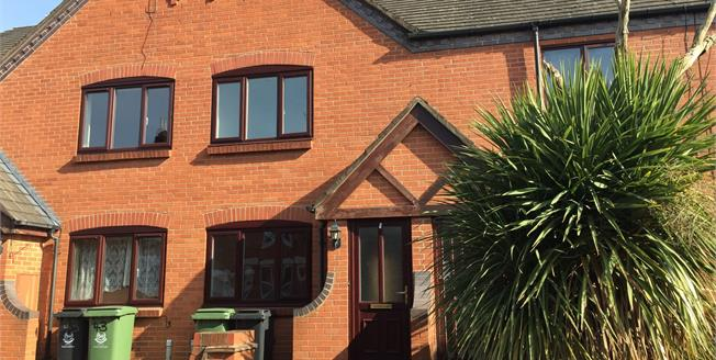 Offers Over £180,000, 2 Bedroom Terraced House For Sale in Worcester, WR3
