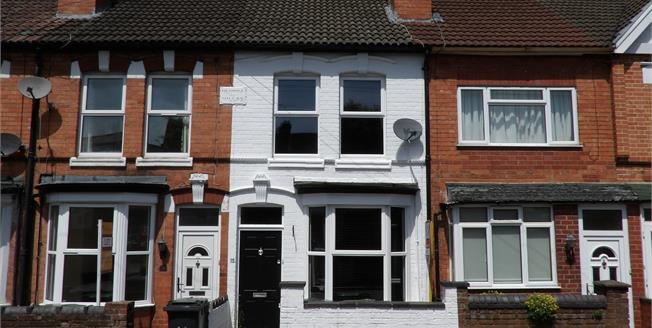 £175,000, 3 Bedroom Terraced House For Sale in Worcester, WR3