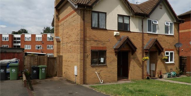 Guide Price £145,000, 2 Bedroom Semi Detached House For Sale in Worcester, WR4