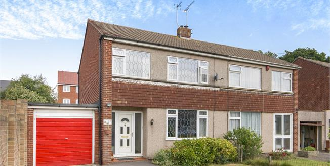 Offers in the region of £245,000, 3 Bedroom Semi Detached House For Sale in Yate, BS37