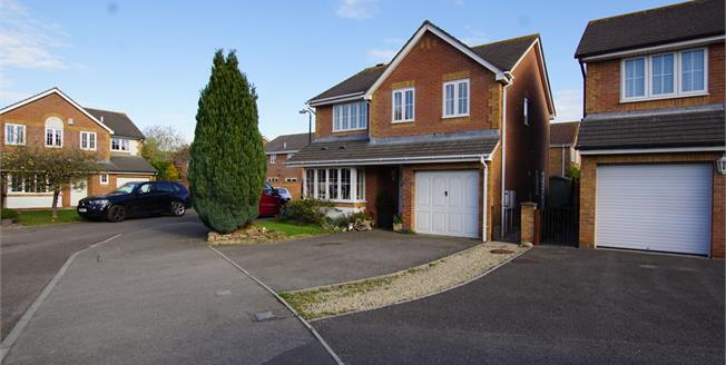 £380,000, 4 Bedroom Detached House For Sale in Yate, BS37