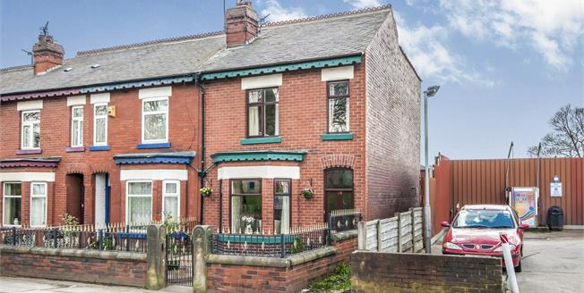 Offers Over £135,000, 3 Bedroom End of Terrace House For Sale in Worsley, M28