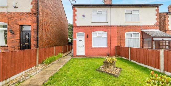 Offers in the region of £110,000, 2 Bedroom Semi Detached House For Sale in Worsley, M28