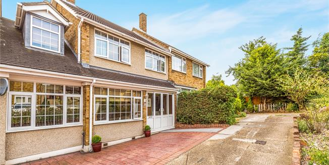 Guide Price £400,000, 4 Bedroom Semi Detached House For Sale in Romford, RM5
