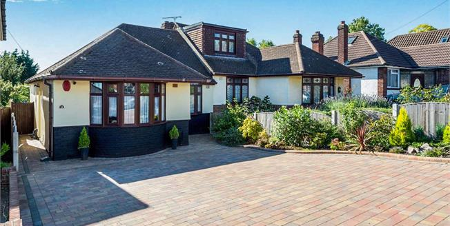 Offers in excess of £400,000, 3 Bedroom Semi Detached Bungalow For Sale in Romford, RM5