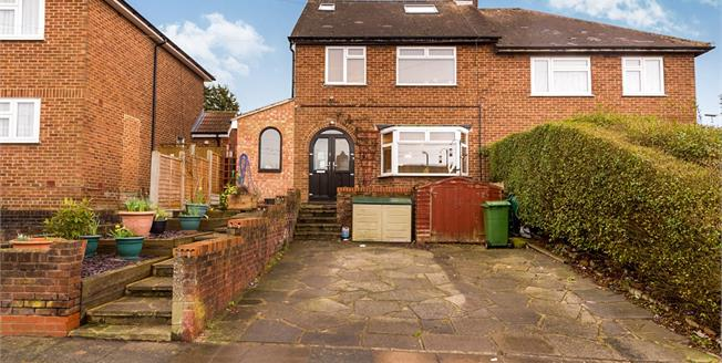 Offers in excess of £400,000, 5 Bedroom Semi Detached House For Sale in Romford, RM5