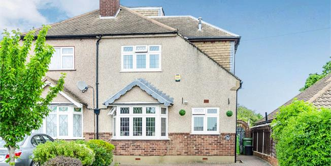 Offers in excess of £375,000, 4 Bedroom Semi Detached House For Sale in Romford, RM3