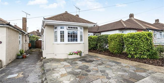 Offers Over £350,000, 3 Bedroom Semi Detached Bungalow For Sale in Romford, RM5