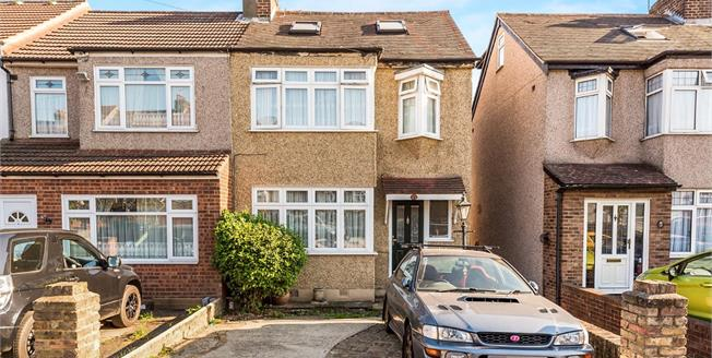 Offers in excess of £375,000, 4 Bedroom End of Terrace House For Sale in Romford, RM5