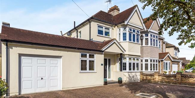 Guide Price £525,000, 4 Bedroom Semi Detached House For Sale in Romford, RM1