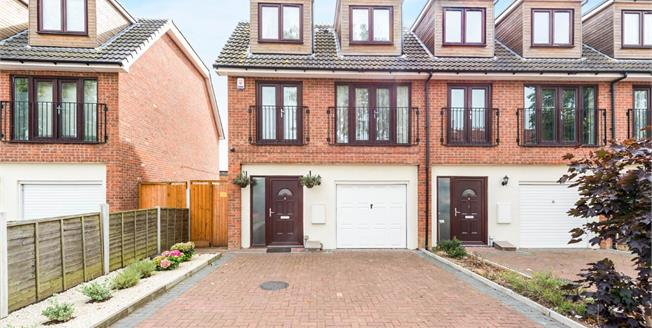 Guide Price £375,000, 3 Bedroom End of Terrace House For Sale in Harold Hill, RM3