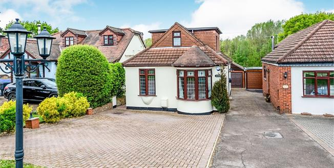 Offers Over £600,000, 3 Bedroom Detached Bungalow For Sale in Havering-Atte-Bower, RM4