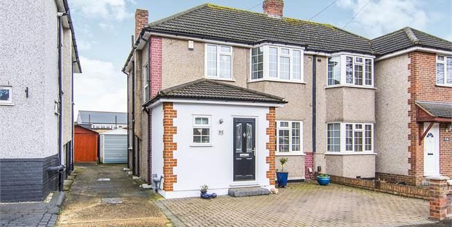 Asking Price £415,000, 3 Bedroom Semi Detached House For Sale in Hornchurch, RM12