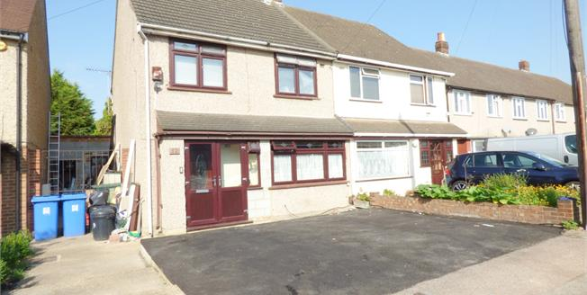 Guide Price £375,000, 3 Bedroom Semi Detached House For Sale in Hornchurch, RM12