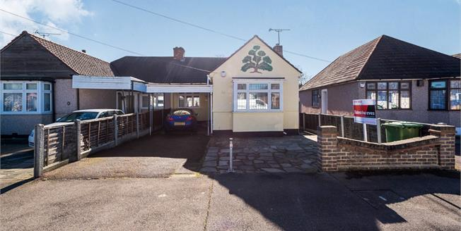 Offers in excess of £325,000, 3 Bedroom Semi Detached Bungalow For Sale in Hornchurch, RM12