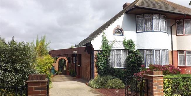 Asking Price £425,000, 3 Bedroom Semi Detached House For Sale in Hornchurch, RM12