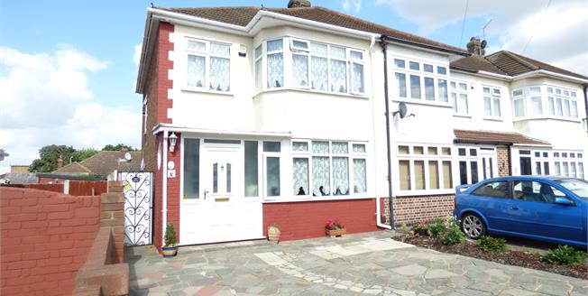 Asking Price £350,000, 3 Bedroom End of Terrace House For Sale in Rainham, RM13