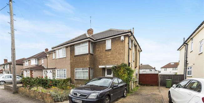 Asking Price £375,000, 3 Bedroom Semi Detached House For Sale in Hornchurch, RM12