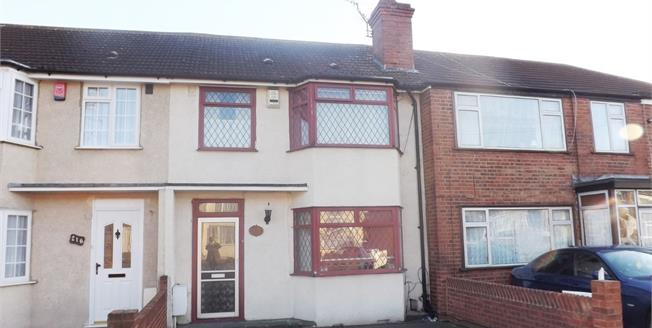 Offers in excess of £350,000, 3 Bedroom Terraced House For Sale in Hornchurch, RM12