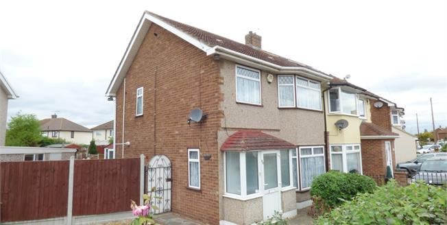 Asking Price £359,950, 3 Bedroom End of Terrace House For Sale in Rainham, RM13