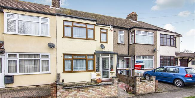 Offers in excess of £325,000, 3 Bedroom Terraced House For Sale in Rainham, RM13