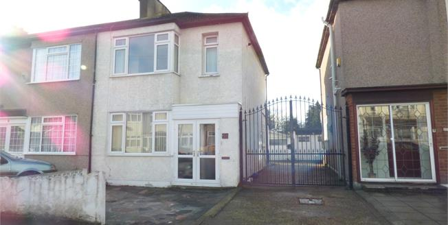 Offers in excess of £340,000, 2 Bedroom End of Terrace House For Sale in Rainham, RM13