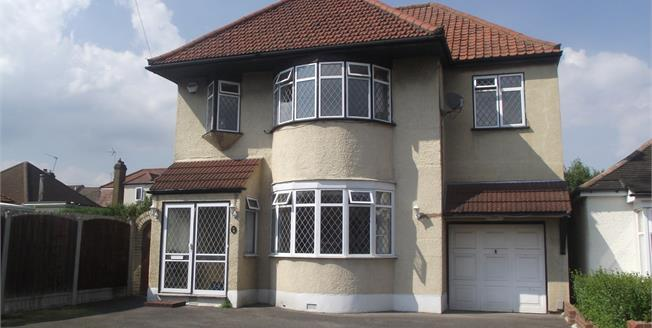 Guide Price £575,000, 4 Bedroom Detached House For Sale in Hornchurch, RM11
