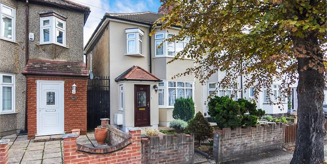 Offers in excess of £425,000, 3 Bedroom Semi Detached House For Sale in Hornchurch, RM11