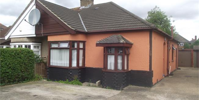 Guide Price £375,000, 3 Bedroom Semi Detached Bungalow For Sale in Ferguson Avenue, RM2