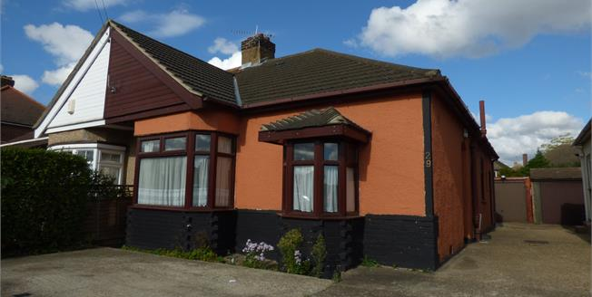 Asking Price £375,000, 3 Bedroom Semi Detached Bungalow For Sale in Ferguson Avenue, RM2