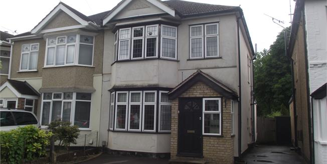 Guide Price £475,000, 3 Bedroom Semi Detached House For Sale in Hornchurch, RM11