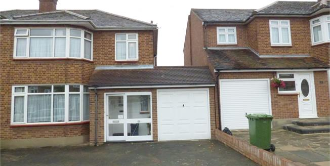 Offers in excess of £525,000, 3 Bedroom Semi Detached House For Sale in Romford, RM2