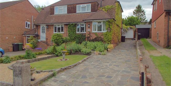 Guide Price £340,000, 3 Bedroom Semi Detached House For Sale in Horndean, PO8