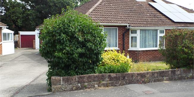 Asking Price £229,995, 2 Bedroom Semi Detached Bungalow For Sale in Hampshire, PO14