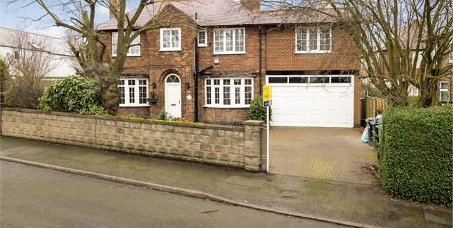 Guide Price £330,000, 4 Bedroom For Sale in Nottingham, NG3