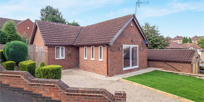 Guide Price £240,000, 3 Bedroom Detached Bungalow For Sale in Carlton, NG4