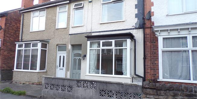 Guide Price £135,000, 3 Bedroom Terraced House For Sale in Carlton, NG4
