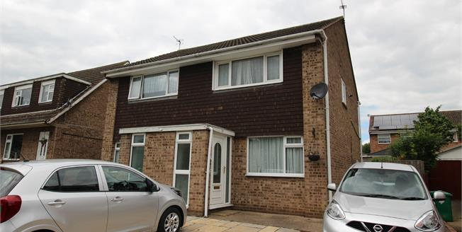 Guide Price £120,000, 2 Bedroom Semi Detached House For Sale in Nottingham, NG6